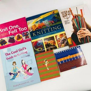 6 Knitting Books - Felting Design Journal TOYS